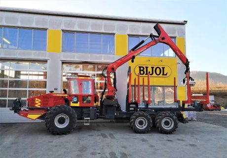 Bijol BWS 240 6x6 Forest kombi machine