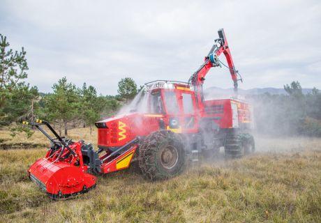 Bijol MFT 240 6x6 Feuerwehr Kombi Maschine