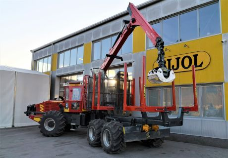 Bijol BWS 240 6x6 Forest kombi machine