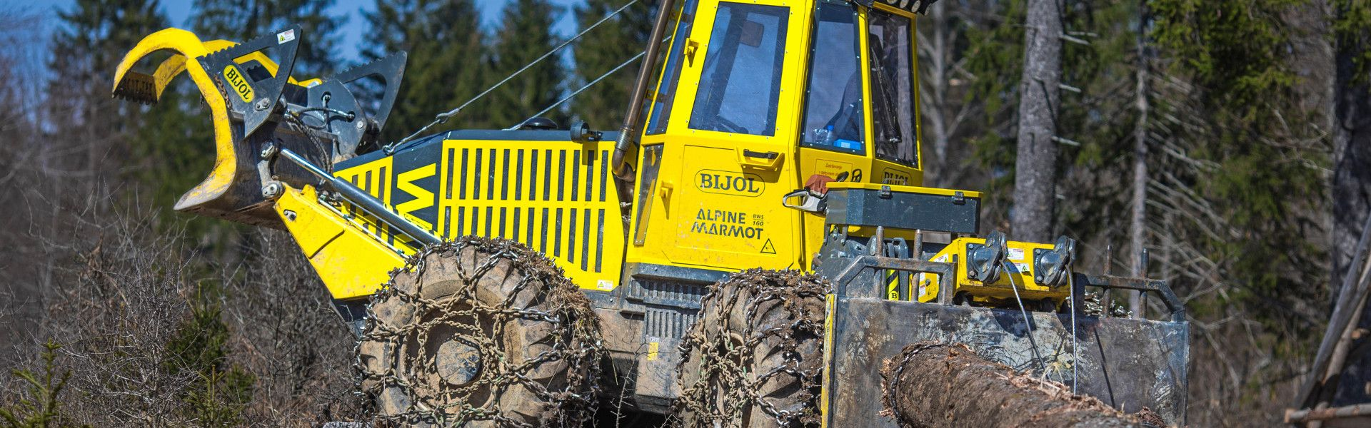 Specialni gozdarski zgibnik Bijol BWS160
